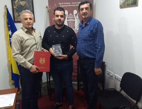 Saradnja sa JU Centar kulture i mladih Općine Centar Sarajevo