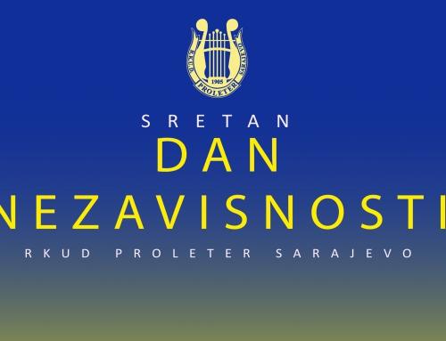 Dan nezavisnosti Bosne i Hercegovine!